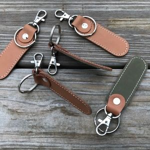 Key chains Lot Genuine Leather Hand made Keychains